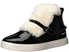 Faux Fur Front High Top Sneakers