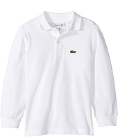 Lacoste Kids - Long Sleeve Classic Pique Polo (Infant/Toddler/Little Kids/Big Kids)