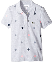 Lacoste Kids - Short Sleeve Polka Dot Polo (Toddler/Little Kids/Big Kids)