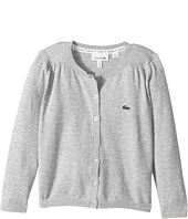 Lacoste Kids - Long Sleeve Cardigan (Toddler/Little Kids/Big Kids)