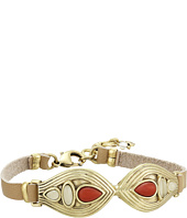 Lucky Brand - Leather Coral Bracelet