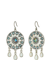 Lucky Brand - Seafoam Circle Drops Earrings