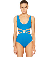 Proenza Schouler - Maillot w/ Center Ring Trim