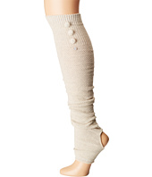 toesox - Rae Leg Warmer Button Up-Open Heel