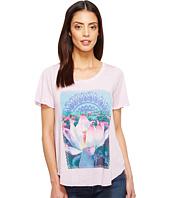 Lucky Brand - Lavender Lotus Tee