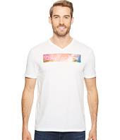 Calvin Klein Jeans - Rainbow Logo Bar V-Neck T-Shirt