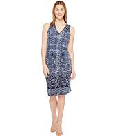 Lucky Brand - Blue Batik Dress