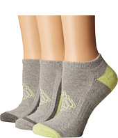Columbia - Half Cushion Shadow Logo Socks No Show 3-Pack