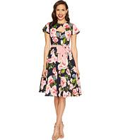 Unique Vintage - Ashcroft Short Sleeve Swing Dress