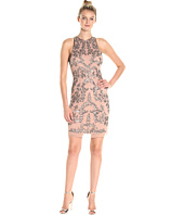 Adrianna Papell - Short Halter Fully Beaded Dress