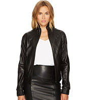 LAMARQUE - IKU_L Colder Shoulder Zip Leather Jacket