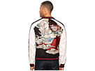 Twin Colour Embroidered Bomber Jacket