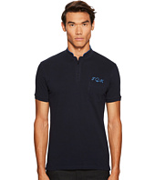 The Kooples - Officer Collar Polo with Embroidery