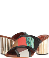 Missoni - Patchwork Heeled Slide
