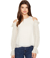 Intropia - Cold Shoulder Ruffle Blouse