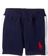 Ralph Lauren Baby - Atlantic Terry Big Pony Polo Shorts (Infant)