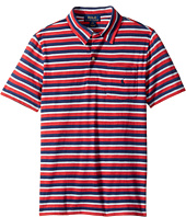 Polo Ralph Lauren Kids - Yarn-Dyed Slub Jersey Cut Top (Big Kids)