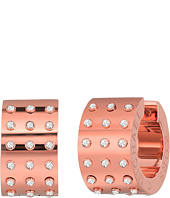 Michael Kors - Micro Muse Microstud Huggie Earrings