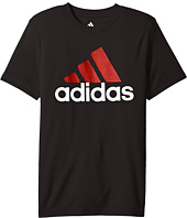 adidas Kids - CLIMA Performance Logo Tee (Big Kids)