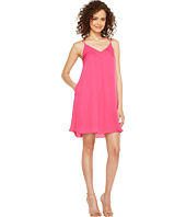 HEATHER - Sophia Silk Spaghetti Swing Dress