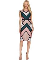 Vince Camuto - Printed Scuba Bodycon Dress