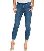 Ivanka Trump - Denim Rolled Crop Jeans in Vintage Blue