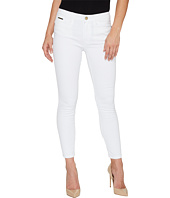 Ivanka Trump - Denim Skinny Ankle Jeans in White