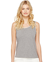 Ivanka Trump - Knit Crew Neck Sleeveless Tank Top