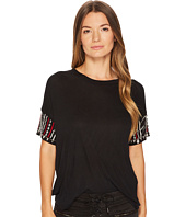 The Kooples - T-Shirt Avec Broderie Aux Manches