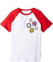 True Religion Kids - Patches Logo Tee Shirt (Big Kids)