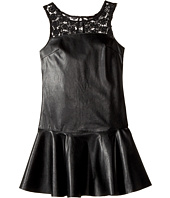 Ella Moss Girl - Jacey Faux Leather Dress (Big Kids)