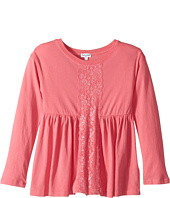Splendid Littles - Long Sleeve Top with Lace Insert (Little Kids)