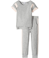 Splendid Littles - Loose Knit Football Sweat Set (Little Kids)