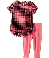 Splendid Littles - Yarn-Dyed Plaid Swing Top with Leggings Set (Infant)