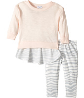 Splendid Littles - Zebra Printed Chiffon Back with Zebra Leggings Set (Infant)