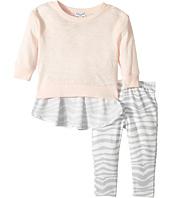 Splendid Littles - Zebra Printed Chiffon Back with Zebra Leggings Set (Infant)