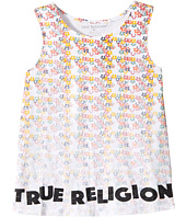 True Religion Kids - Sponge Flower Tank Top (Big Kids)