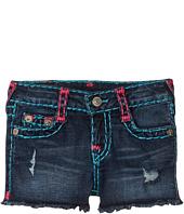 True Religion Kids - Bobby Raw Edge Shorts (Toddler/Little Kids)