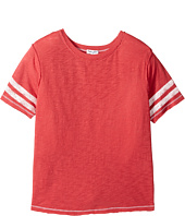 Splendid Littles - Football Tee with Screened Stripe (Big Kids)