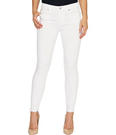 7 For All Mankind - The Skinny w/ Step Hem in Clean White