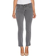 NYDJ Petite - Petite Ami Skinny Ankle Jeans w/ Fray Side Slit in Vintage Pewter