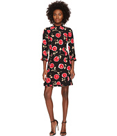 Kate Spade New York - Hazy Rose Crepe A-Line Dress