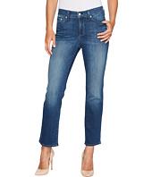 NYDJ - Marilyn Straight Ankle Jeans in Crosshatch Denim in Anson