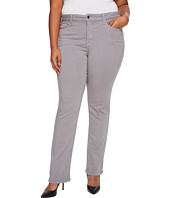 NYDJ Plus Size - Plus Size Marilyn Straight in Luxury Touch Denim in Mineral