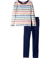 Splendid Littles - Reverse Printed Stripe Shirt and Pants Set (Little Kids/Big Kids)