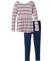 Splendid Littles - Yarn-Dyed Stripe Sweater Shirt with Leggings Set (Little Kids)