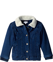 Splendid Littles - Baby French Terry Indigo Jacket with Sherpa Collar (Little Kids)