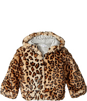 Splendid Littles - Leopard Faux Fur Hooded Jacket (Toddler)