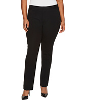 NYDJ Plus Size - Plus Size Ponte Trousers in Black