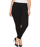 NYDJ Plus Size - Plus Size Pull-On Legging Pants with Ankle Zip in Black